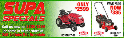 mower supastore mowers chainsaws and brushcutters brisbane