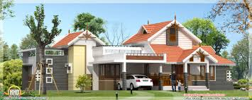 one house beautiful 4 bedroom one floor house in kerala 1900 sq ft home