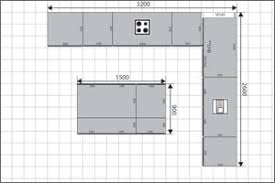 l shaped kitchen floor plans with island l shaped kitchen with island layout