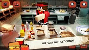 jeux de cuisine fast food burger craft fast food chef jeux de cuisine 3d applications