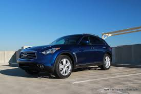 infiniti fx vs lexus rx review review 2013 infiniti fx37 video the truth about cars