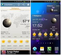 clock and weather widgets for android android apps 5 astonishing weather widgets newsinitiative