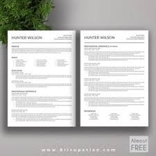 Modern Resume Template Free Word Resume Template 87 Cool Free Word Templates Teacher Microsoft