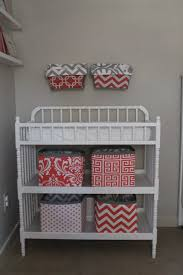davinci jenny lind changing table magnolia mommy made coral and gray nursery reveal jenny lind