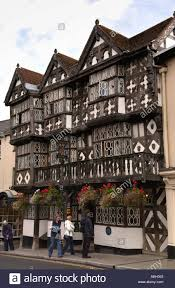 timber framed feathers hotel ludlow shropshire england uk built in