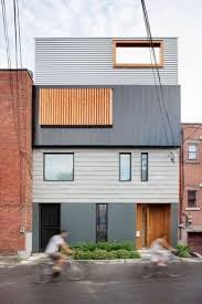architecture spacious stacked house design exterior with small