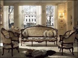 Victorian Livingroom French Provincial Formal Antique Style Living Room Furniture Set