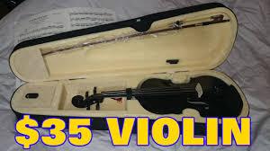 violin black friday sale 35 dollar violin on amazon goplus review youtube