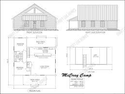 Camp Plans by Cypress Log Home Floorplans Thrift Log Homes