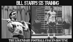 5x5 Bench Press Workout Bill Starr Original 5 X 5 Training Routine Old Trainer