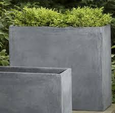 large concrete planter 13 contemporary concrete planters planters concrete and contemporary