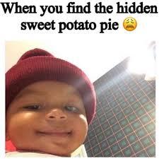 Child Meme - sweet potato pie honey bun baby know your meme