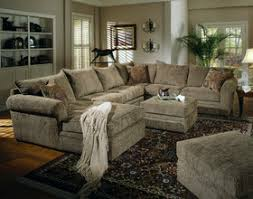 Small Sectional Sofa With Chaise Lounge Chenille Sectional Sofa Couch In Olive Fabric U0026 Chaise Lounge