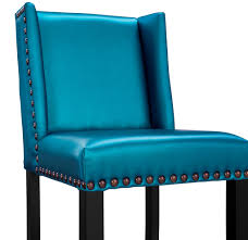 furniture of america cm br6246bl fergus contemporary blue bar denver blue bar stool e2 80 93 first of a kind home decor magazines