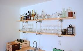 Bar Wall Shelves by Shelf Ideas For The Modern Man Cave Dudeliving