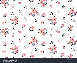 cute floral pattern small flower ditsy stock vector 522866503