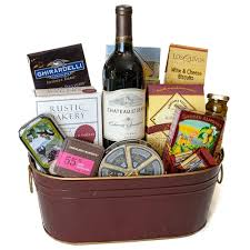 wine and cheese gift baskets wine gift basket