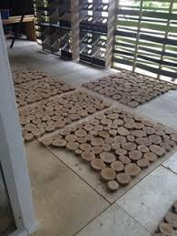 log floor interesting eco friendly flooring idea from bleu nature um where