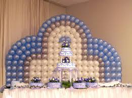 wedding backdrop balloons wedding buffet ideas using balloons for buffet table decorations