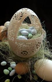 decorative eggs that open best 25 egg basket ideas on newspaper basket paper