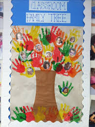 Ideas For Christmas Tree Bulletin Board by Best 25 Classroom Family Tree Ideas On Pinterest Picture Of