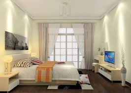 best bedroom with large bed also white soft fub rug and glass wall