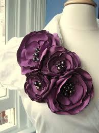 Flower Belts - best 25 fabric flowers ideas on pinterest easy fabric flowers