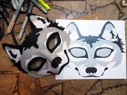 Wolf Mask Happenstance Wedding Felt Animal Masks
