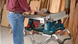 table saw reviews fine woodworking bosch 4100dg 09 portable tablesaw review finewoodworking