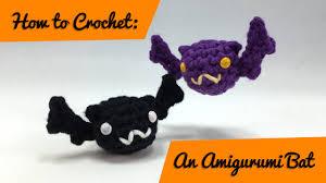 Crochet Halloween Garland How To Crochet An Amigurumi Bat Youtube