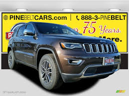 luxury jeep grand cherokee 2017 luxury brown pearl jeep grand cherokee limited 4x4 117654638