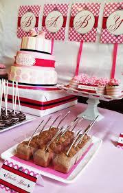 sweet treats carousel shabby chic baby shower dessert table