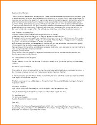 10 formal email template business resume language