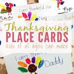 thanksgiving place cards that can make free printable