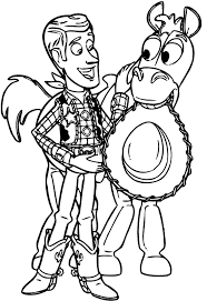 toy story woody images coloring