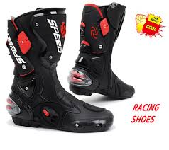 long road moto boot motorcycle shoe sport motocross cycling long boots off road racing