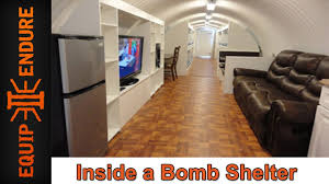 inside a bomb shelter with atlas survival shelters by equip 2