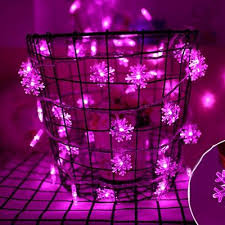 snow decoration 5m natal christmas led string lights tree fairy light