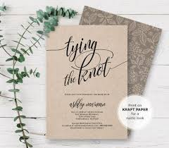 templates bridal shower menu card template with rustic wedding