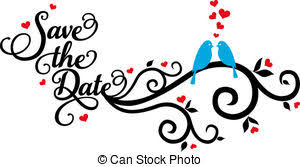 wedding save the date clipart 3 clipartix