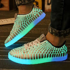light shoes for mens fluorescent shoes 2016 new arrival light up casual shoes for adults