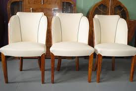 Dining Room Furniture Sales Epstein Dining Table And 6 Cloud Back Chairs In Fiddle Back Maple