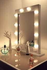 vanity mirror with light bulbs around it home vanity decoration
