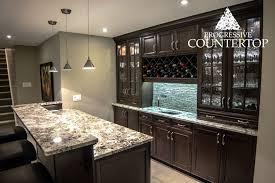 exotic alaska white granite counters eased edge counters