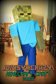 Minecraft Skeleton Halloween Costume by Idiosyncrazy Adventures In Crafting Minecraft Zombie