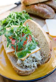 pesto chicken salad sandwiches valerie u0027s kitchen