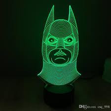 3d led light cubes novelty batman lights ful touch switch