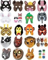 kid birthday party halloween dinosaur farm animal insect mask ebay