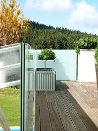 windschutz fã r balkone windschutz fur terrasse windschutz fa 1 4 r terrasse glasgelander