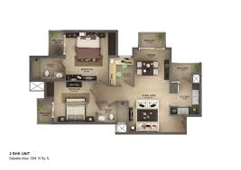 2 bhk flats in vasilia sector 32 noida